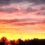 Sunrise December 20 2013